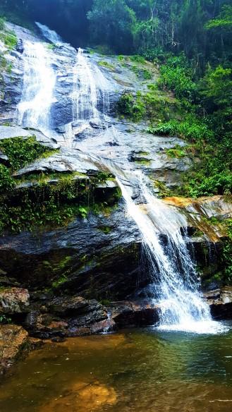 Cachoera Cascatinha in Floresta da Tijuca Rainforest
