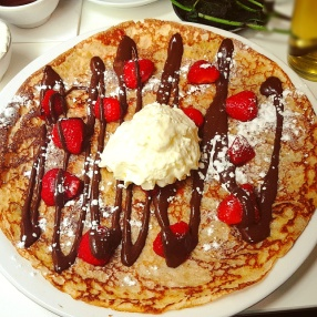 Dutch Pancakes from Pancakes! in Amsterdam, Netherlands