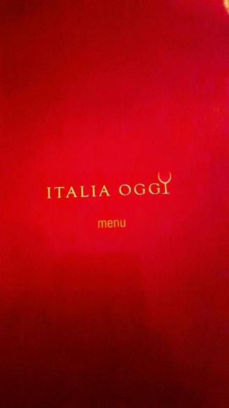 Italia Oggi menu