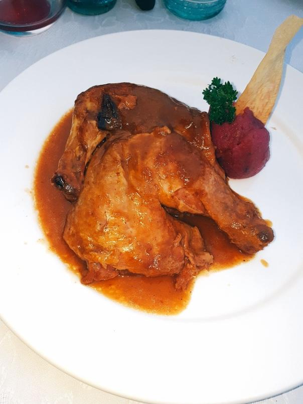 Chicken at La Guarida
