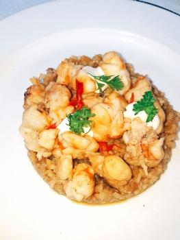 Lobster and Rice at La Guarida