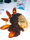 Rice, Beans, and Fish at La Guarida