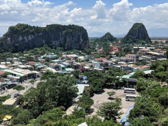 View from Marble Mountains in Da Nang