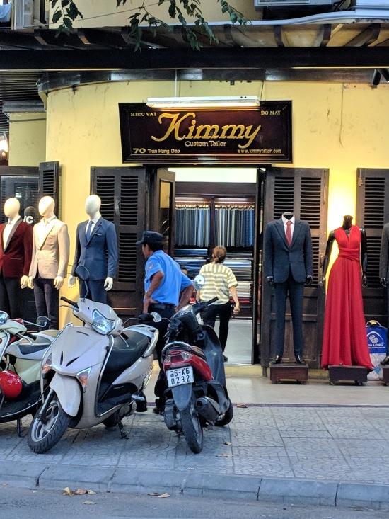 Kimmy Custom Tailor in Hoi An