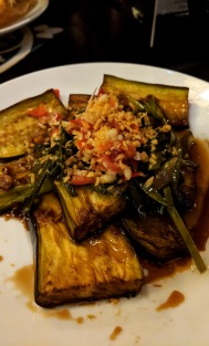 Eggplant at Morning Glory Restaurant in Hoi An