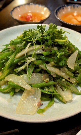 Green Beans at Morning Glory Restaurant in Hoi An