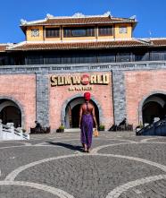 Sun World in Ba Na Hills, Da Nang